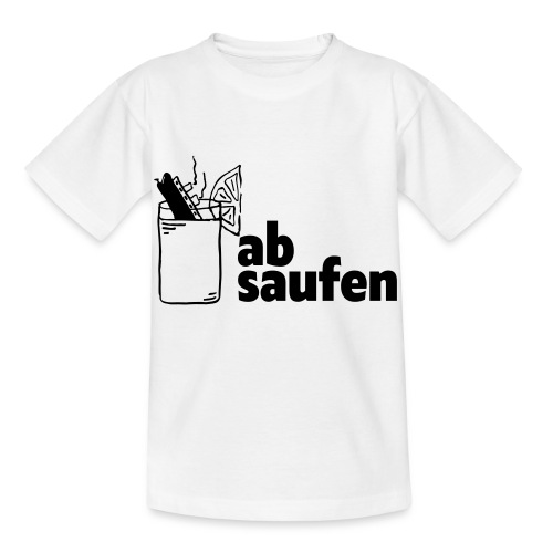absaufen - Kinder T-Shirt
