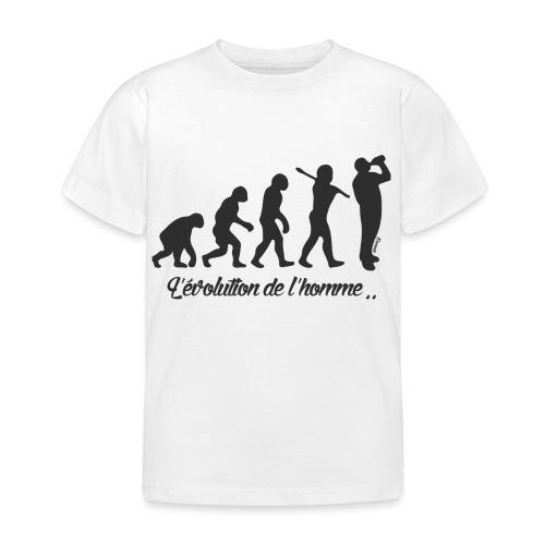 évolution homme (H) - T-shirt Enfant