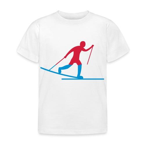 Skiløper - T-skjorte for barn