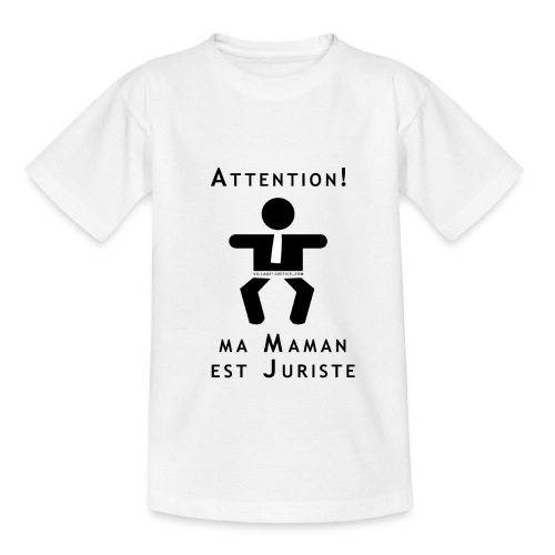 Attention Maman juriste ! - T-shirt Enfant