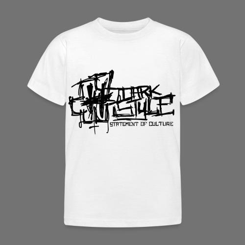 Tumma Style - Statement of Culture (musta) - Lasten t-paita