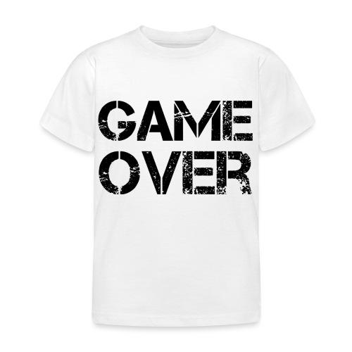 Streamers-Unite - Game Over - Kinderen T-shirt