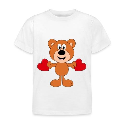 TEDDY - BÄR - LIEBE - LOVE - KIND - BABY - Kinder T-Shirt