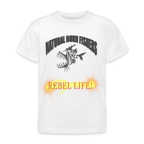 REBEL life - Lasten t-paita