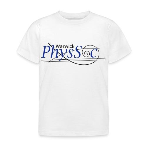 Official Warwick PhysSoc T Shirt - Kids' T-Shirt