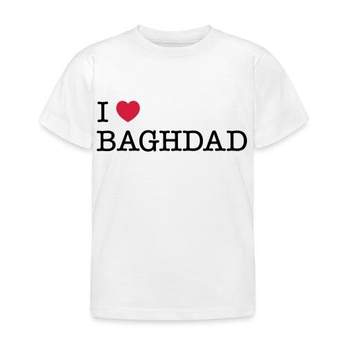 I LOVE BAGHDAD - Kids' T-Shirt