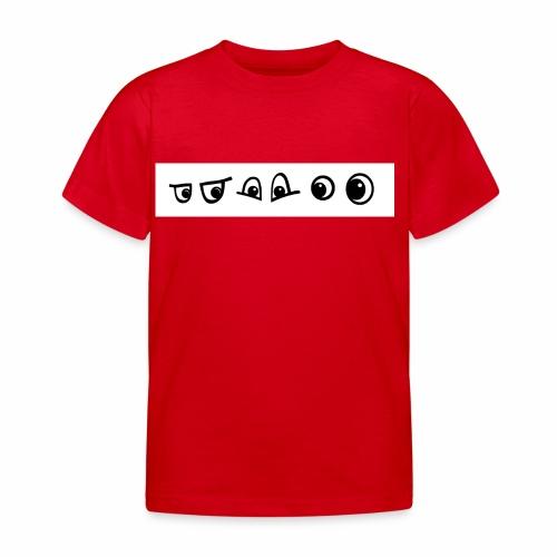 graffiti caracter augen - Kinder T-Shirt