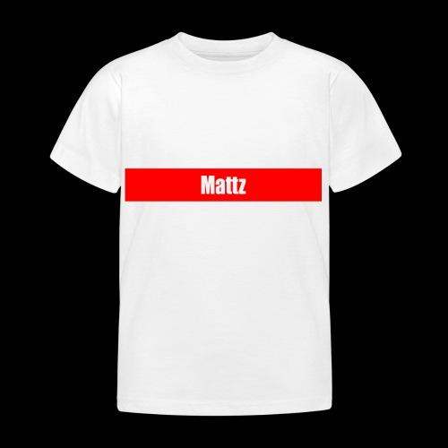supräme mattz - T-shirt barn