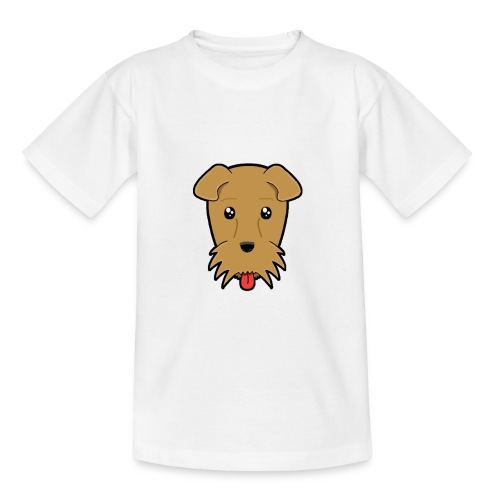 Shari the Airedale Terrier - Kids' T-Shirt