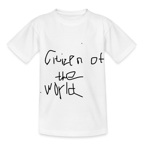 Young citizen of the world - T-shirt barn