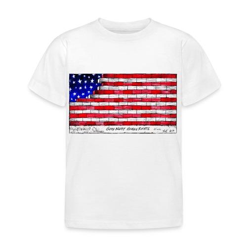 Good Night Human Rights - Kids' T-Shirt