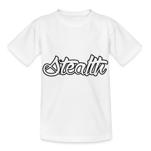 Stealth White Merch - Kids' T-Shirt