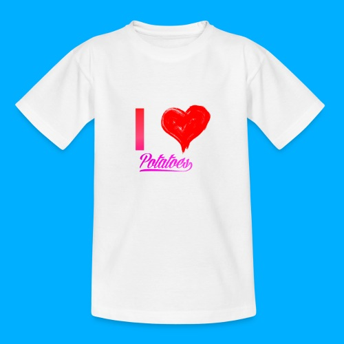 I Heart Potato T-Shirts - Kids' T-Shirt