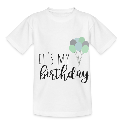 it's my birthday - Kinder T-Shirt