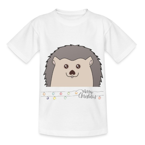 Hed wünscht Merry Christmas - Kinder T-Shirt