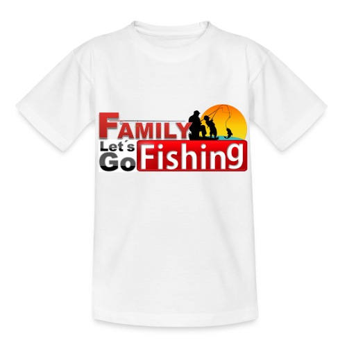 FAMILY LET'S GO FISHING FUND - Kids' T-Shirt