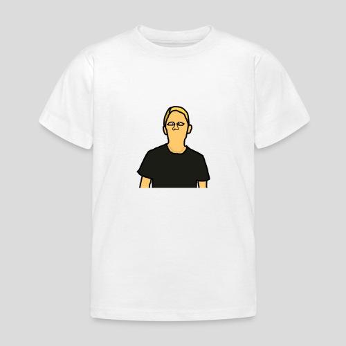 mij zelf getekent edited 2 - Kinderen T-shirt