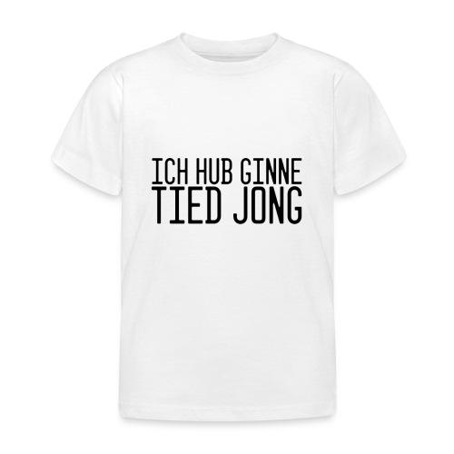 Ginne tied - Kinderen T-shirt