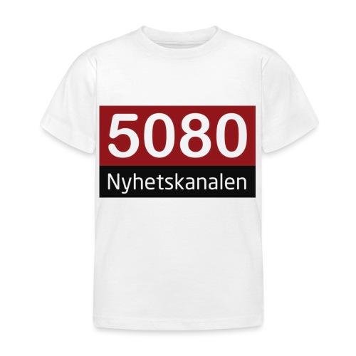 5080 nyhetskanalen logo - T-skjorte for barn
