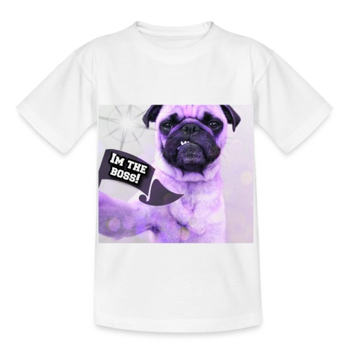I'm the boss - Børne-T-shirt