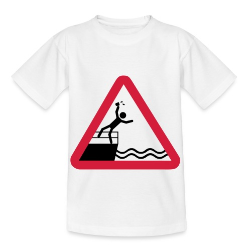Bitte kein Bier Verschütten! - Kinder T-Shirt