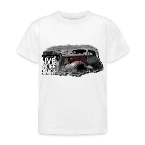 Live a life Oldtimer - Kinder T-Shirt