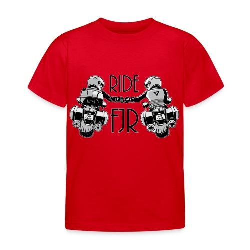 0852 2 RIDE FJR - Kinderen T-shirt
