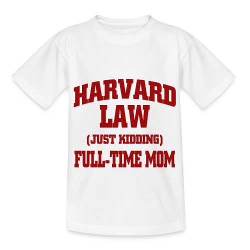 harvard law just kidding - Koszulka dziecięca