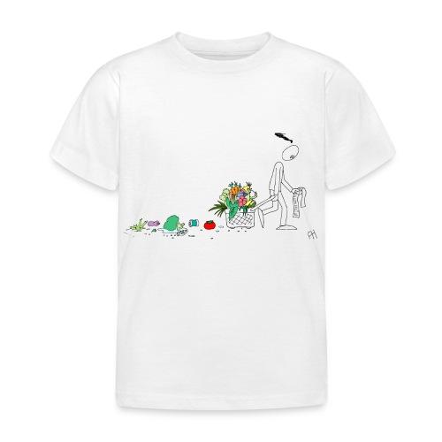 frukt og grønt handleveske - T-skjorte for barn