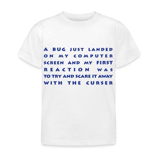 bug - Lasten t-paita