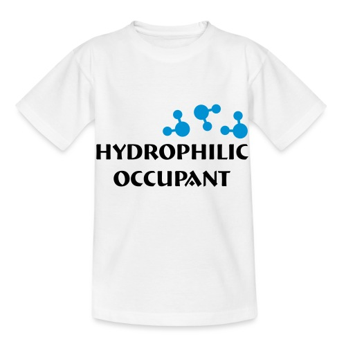 Hydrophilic Occupant (2 colour vector graphic) - Kids' T-Shirt