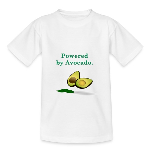 T-shirt ; Powered by avocado - T-shirt Enfant