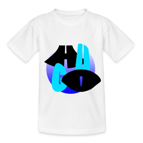 Hugo's logo transparant - Kinderen T-shirt