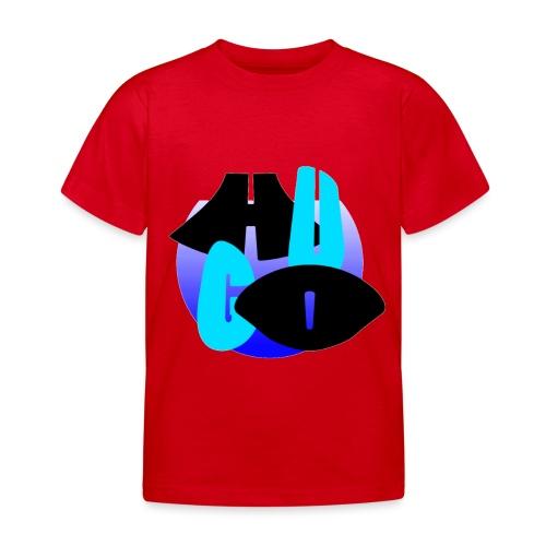 Hugo's logo transparant - Kinderen T-shirt