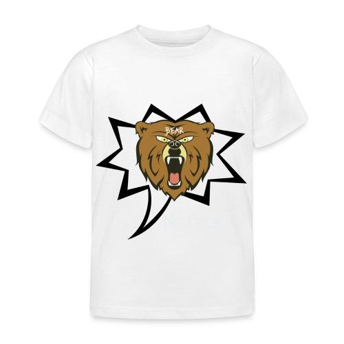 Bear Roar Logo - Kids' T-Shirt