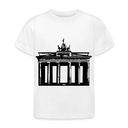 Brandenburger Tor - Kinder T-Shirt