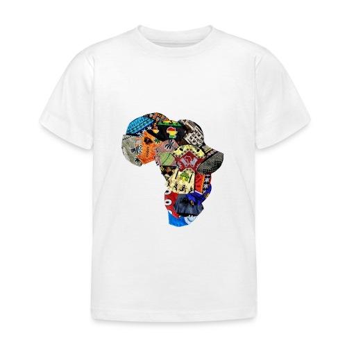Afrique en Wax (Impression) - T-shirt Enfant