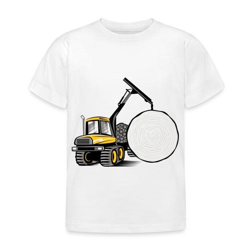 Kuormatraktori t paidat, hupparit, lahjatuotteet - Lasten t-paita