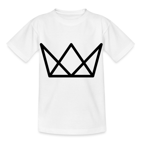 TKG Krone schwarz CMYK - Kinder T-Shirt