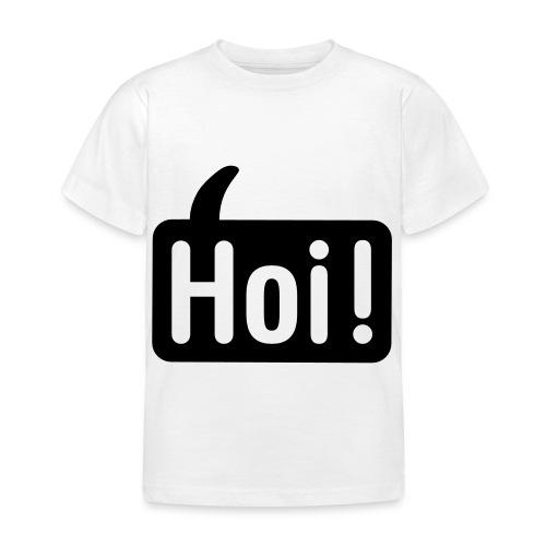 hoi front - Kinderen T-shirt