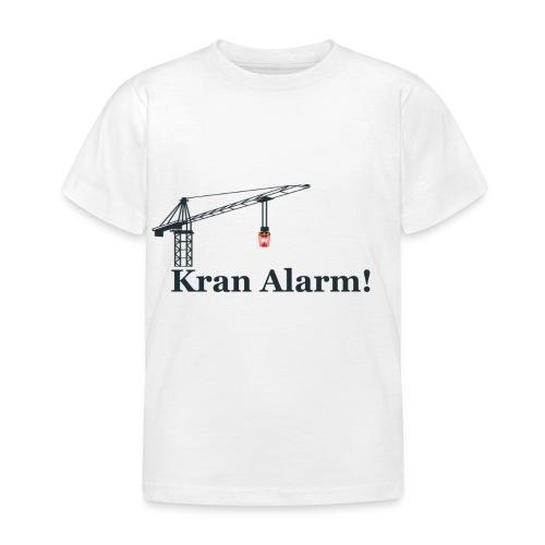Kran Alarm - Børne-T-shirt