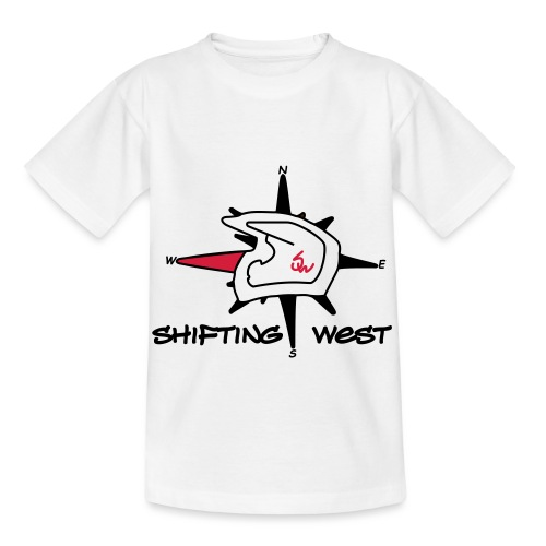 Shifting West Logo vector - Kinderen T-shirt