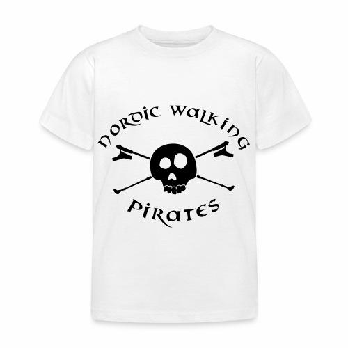 NordicWalkingPirates_2017 - Kinder T-Shirt