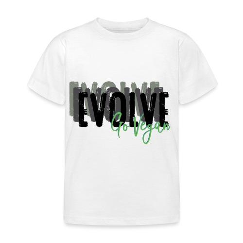 Evolve go Vegan - Kids' T-Shirt