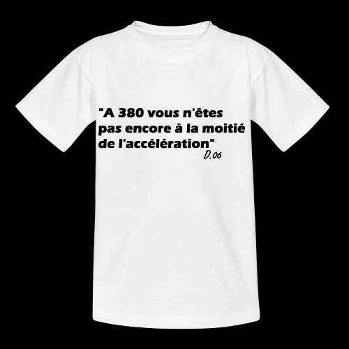 380 noir - T-shirt Enfant