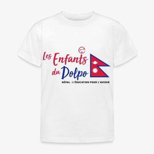 Les Enfants du Doplo - Grand Logo Centré - T-shirt Enfant