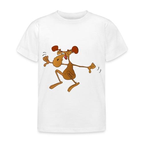 elch huepft - Kinder T-Shirt