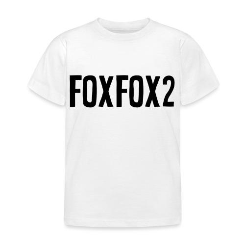 FoxFox | Text - Maglietta per bambini