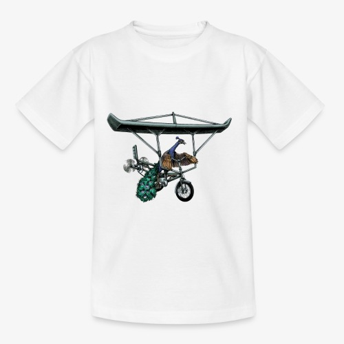 Flight of the Peacock - Kids' T-Shirt