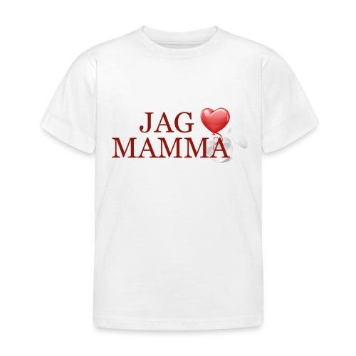 Jag älskar mamma - T-shirt barn